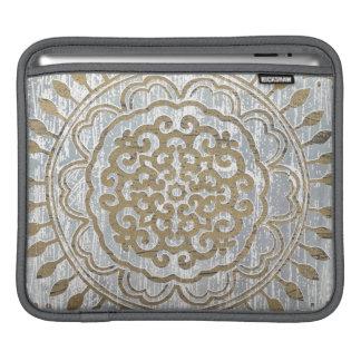Mandala Gold Design Sleeve For iPads