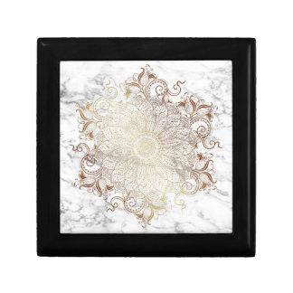 Mandala - Gold & Marble Gift Box