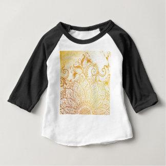 Mandala - Golden brush Baby T-Shirt