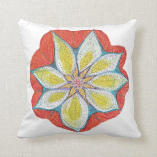 Mandala Hand Painted Throw Cushion 41 cm x 41 cm