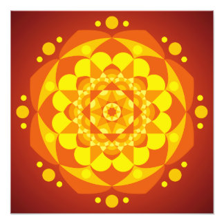 Mandala Happiness Photograph