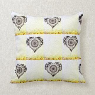 Mandala Heart  Valentine day Pillow