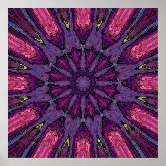 Mandala 'Hippie' Poster