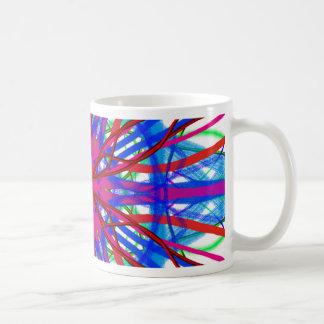 Mandala In Blue And Fuchsia Coffee Mug