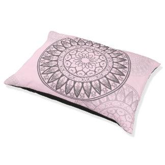 Mandala in Pink Pet Bed