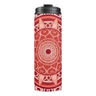 Mandala in Red Thermal Tumbler