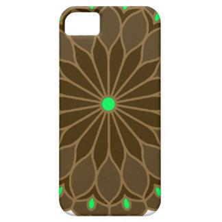 Mandala Inspired Earth Flower iPhone 5 Covers
