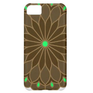 Mandala Inspired Earth Flower iPhone 5C Covers