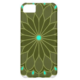 Mandala Inspired Flower iPhone 5C Cases