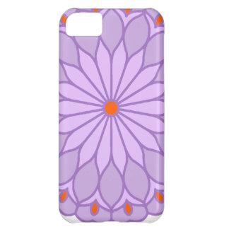 Mandala Inspired Pale Lavender Flower iPhone 5C Case