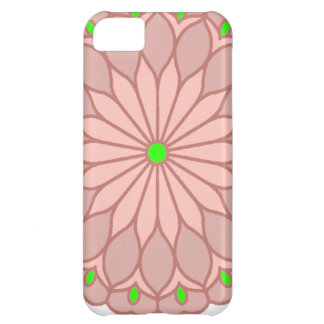Mandala Inspired Pale Pink Flower iPhone 5C Covers