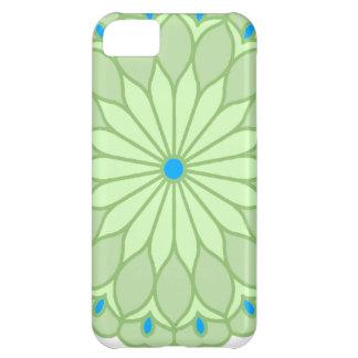 Mandala Inspired Pale Sage Flower iPhone 5C Cases