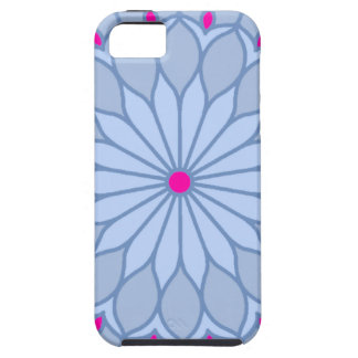 Mandala Inspired Periwinkle Flower iPhone 5 Covers