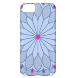 Mandala Inspired Periwinkle Flower iPhone 5C Cover