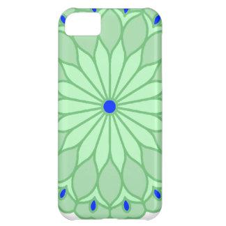 Mandala Inspired Sea Green Flower iPhone 5C Covers