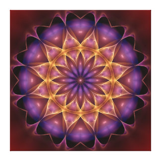 Mandala intensifier canvas print