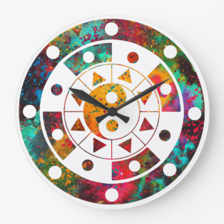 Mandala Large Clock