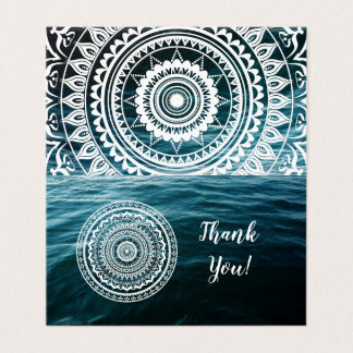 Mandala Let sea set you free Card