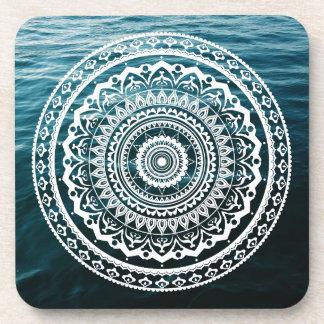 Mandala Let sea set you free Coaster