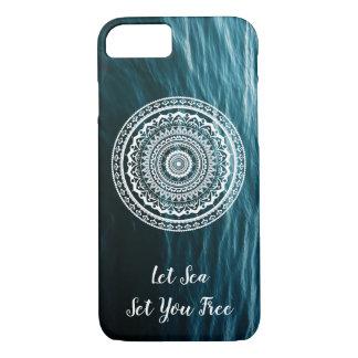Mandala Let sea set you free iPhone 8/7 Case