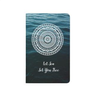 Mandala Let sea set you free Journal