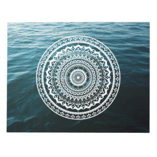 Mandala Let sea set you free Notepad