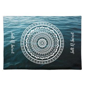 Mandala Let sea set you free Placemat