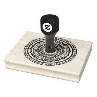 Mandala Let sea set you free Rubber Stamp