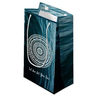 Mandala Let sea set you free Small Gift Bag