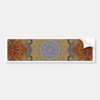 Mandala 'Lioness' Bumper Sticker