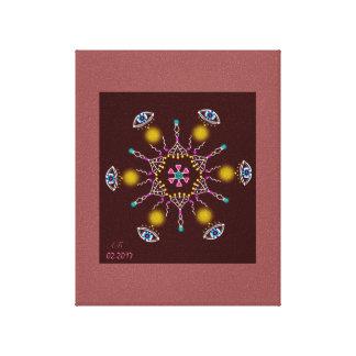 "Mandala ""Love in ME "" Canvas Print"