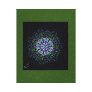 "Mandala ""Magical time "" Canvas Print"