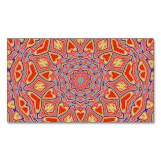Mandala Magnetic Business Card