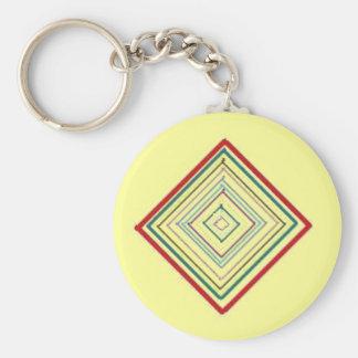 Mandala Meditation - keychain