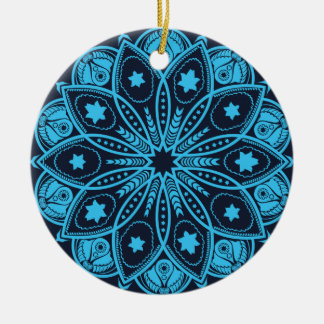Mandala Meditation Ornament