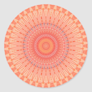 Mandala mental health created by Tutti Classic Round Sticker