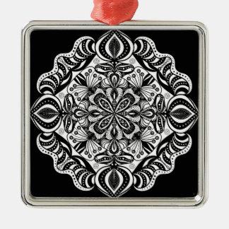 Mandala Metal Ornament