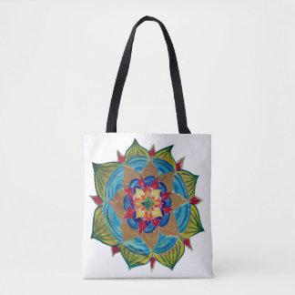 Mandala Mind  All-Over-Print Tote Bag
