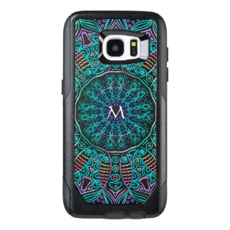 Mandala Monogram Otterbox Galaxy Edge S7 Case