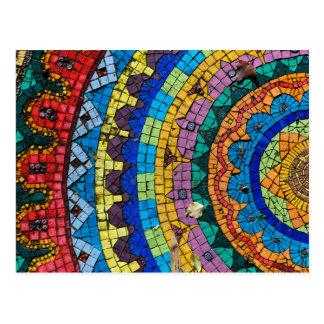Mandala Mosaic Monte Verità Switzerland Postcard