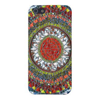 Mandala Mosaic speck case iPhone 5/5S Cases