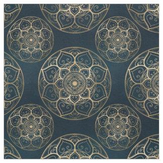 Mandala Night Blue, Fabric