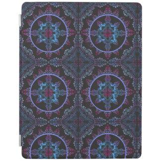 Mandala Night Flower iPad Cover