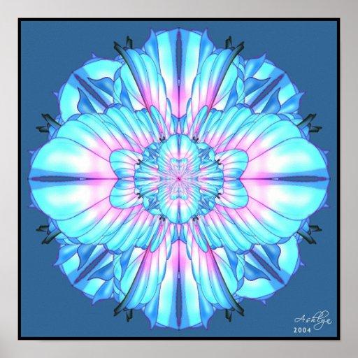 Mandala Number One Poster