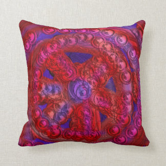 Mandala of Life Throw Pillow