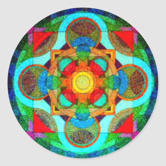 Mandala of Positive Energy Sticker