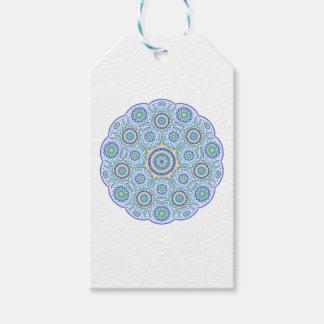 Mandala ornament gift tags