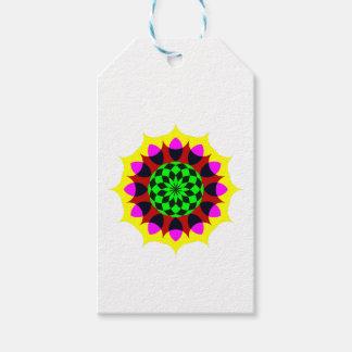 Mandala Pack Of Gift Tags