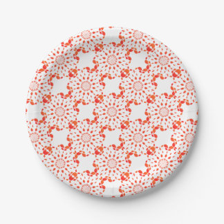 Mandala Paper Plate