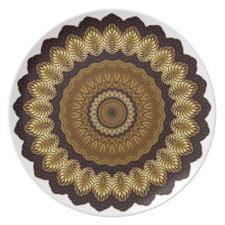 Mandala Party Plate